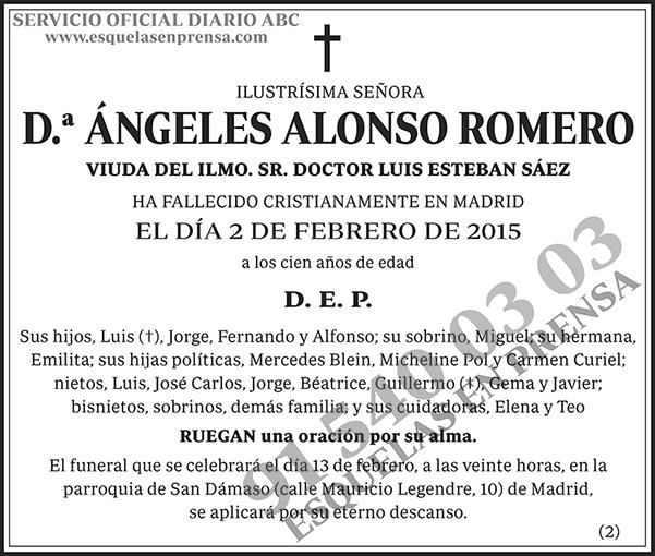 Ángeles Alonso Romero